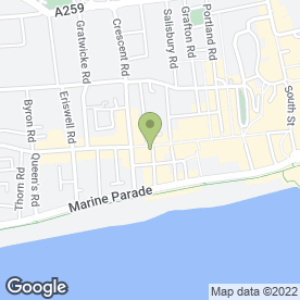Map of Greggs in Worthing, west sussex