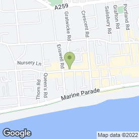 Map of Johnson Home Wine Supplies in Worthing, west sussex