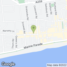 Map of Greenfingers Florists in Worthing, west sussex