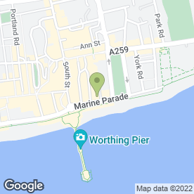 Map of The Dome, Worthing in Worthing, west sussex