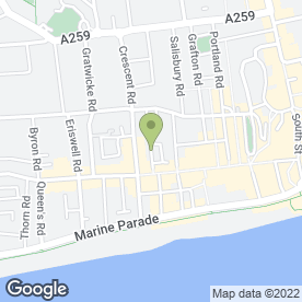 Map of Shorely Scrumptious in Worthing, west sussex