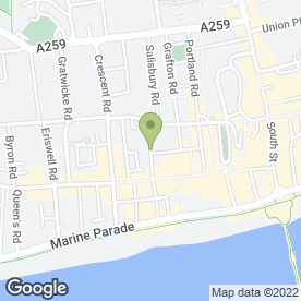 Map of Fresh Egg Ltd in Worthing, west sussex
