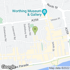 Map of PeterSigns in Worthing, west sussex