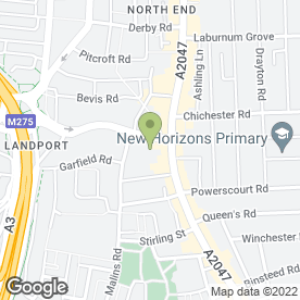 Map of Andrew & Andrew LLP in Portsmouth, hampshire