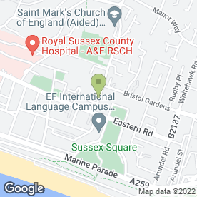 Map of Lee Hire Ltd in Brighton, east sussex