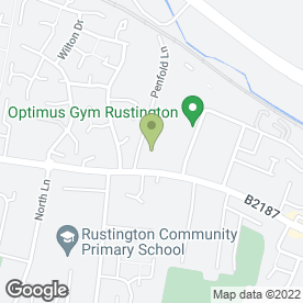 Map of Cuisine Catering in Rustington, Littlehampton, west sussex