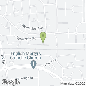 Map of Tanya's Tinkers in Goring-by-Sea, Worthing, west sussex