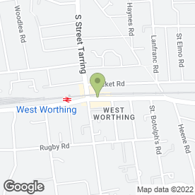 Map of Topknot in Worthing, west sussex