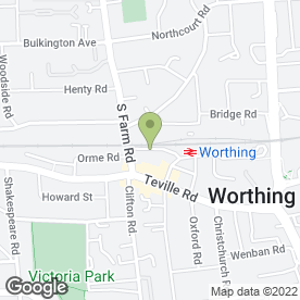 Map of Car Busters in Worthing, west sussex