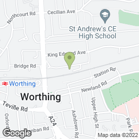 Map of Cameron in Worthing, west sussex