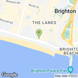 Map of Barceló Brighton Old Ship Hotel in Brighton, east sussex