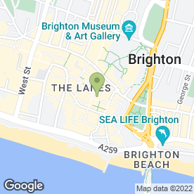 Map of Toasters in BRIGHTON, east sussex