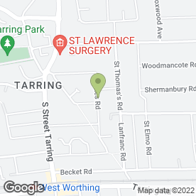 Map of A & M PAVING CONTRACTORS in Worthing, west sussex