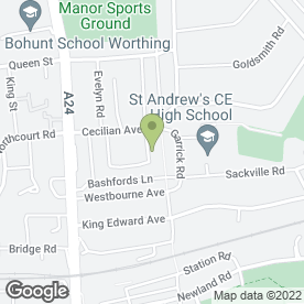 Map of Hector Photo Ltd in Worthing, west sussex