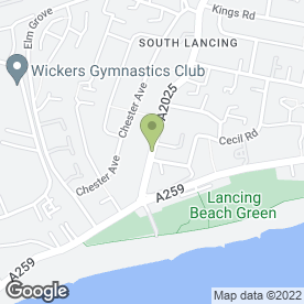Map of MEZE-MEZE in Lancing, west sussex