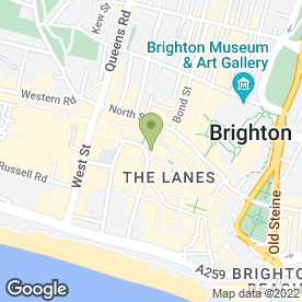 Map of Ask Brighton in Brighton, east sussex