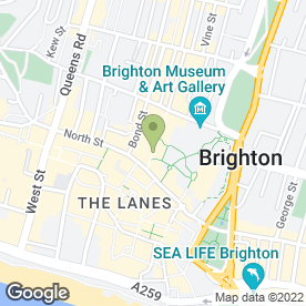 Map of El Mexicano Ltd in Brighton, east sussex