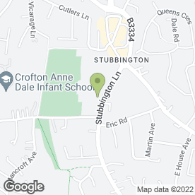 Map of PARK DAY NURSERY & PRE-SCHOOL in Fareham, hampshire