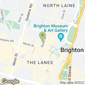 Map of Shakeaway Ltd in Brighton, east sussex