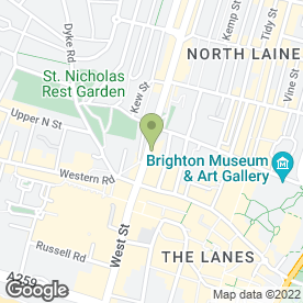 Map of Exposure Tanning in Brighton, east sussex