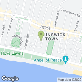 Map of Bee Threading & Waxing Specialist in Hove, east sussex