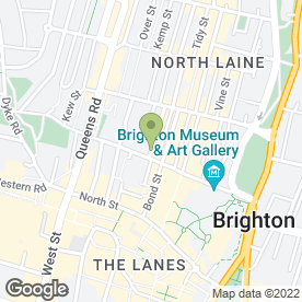 Map of Dean Wilson LLP in Brighton, east sussex