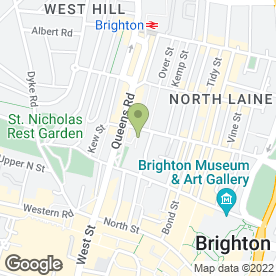 Map of The Local Septic Tank Co in Brighton, east sussex