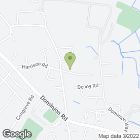 Map of ROLLS ROOFING in Worthing, west sussex