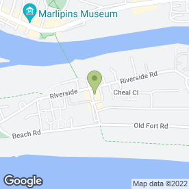 Map of Pritchards Embroidery in Shoreham-By-Sea, west sussex