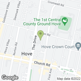 Map of Perfect Print in Hove, east sussex