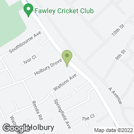 Map of Holbury Car Radio in Holbury, Southampton, hampshire