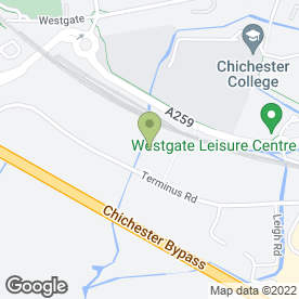 Map of Rapid-Fit in Chichester, west sussex