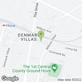 Map of Tim Smith Plumbing & Heating Ltd in Hove, east sussex