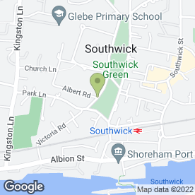 Map of A & T Consultants Ltd in Southwick, Brighton, east sussex