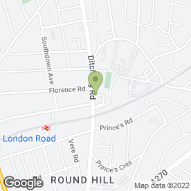 Map of Krysalis Photography in Brighton, east sussex