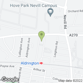 Map of Phones 4 U in Hove, east sussex