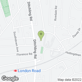 Map of AMARA FLUTE & HARP DUO in Brighton, east sussex