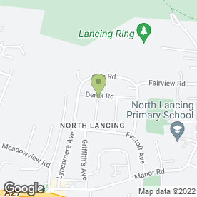 Map of BARDEN SIGNS in Lancing, west sussex