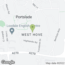 Map of MILLS REMOVALS in Portslade, Brighton, east sussex