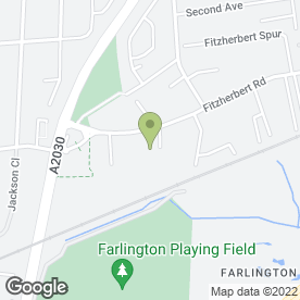 Map of KKM Deliveries in Farlington, Portsmouth, hampshire
