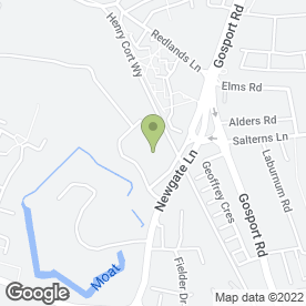 Map of Allspeed Signs & Graphics Ltd in Palmerston Drive, Fareham, hampshire