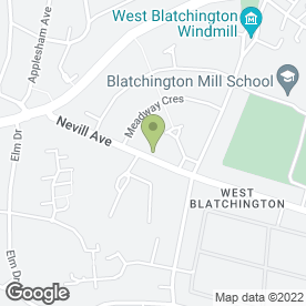 Map of Matt Cassar Plumbing & Heating in Hove, east sussex