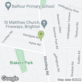 Map of Beaumonts Estate Agents in Brighton, east sussex