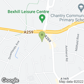 Map of RENOWN COACHES in Bexhill-On-Sea, east sussex