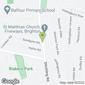Map of J Cragg Building & Maintenance in Brighton, east sussex