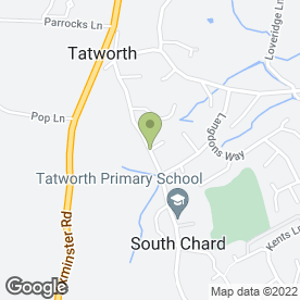 Map of Dave's Domestic Repairs in South Chard, Chard, somerset