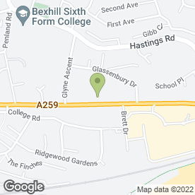Map of RENTA DIGGER in Bexhill-On-Sea, east sussex