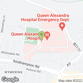Map of Tops Day Nurseries Ltd in Cosham, Portsmouth, hampshire