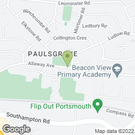 Map of Local in Paulsgrove, Portsmouth, hampshire