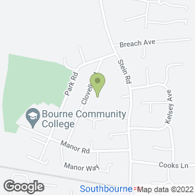 Map of SUPERSTART in Southbourne, Emsworth, hampshire